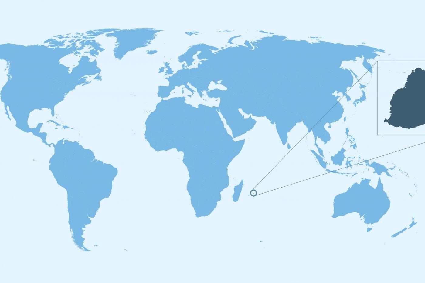 Cartina Geografica Del Mondo Mauritius.Mauritius Hotel Resort E Appartamenti A Mauritius